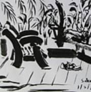 The Veranda Art Print