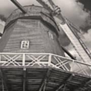 The Viby Windmill Art Print