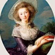 The Vicomtesse De Vaudreuil Art Print