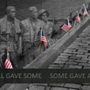 The Vietnam War Memorial Art Print