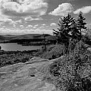 The View From Bald Mountain Art Print