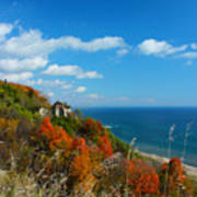 The View - Scarborough Bluffs Art Print