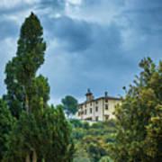 The Views From The Boboli Gardens Art Print
