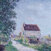 The Village Of Sablons Art Print