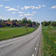 The Village Of Stjarna Art Print