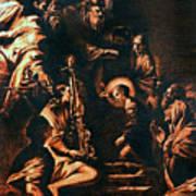 The Virgin Entering The Temple Art Print