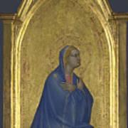 The Virgin   Left Pinnacle Panel Art Print