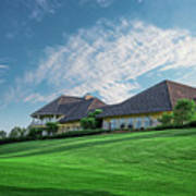 The Virtues Golf Course Clubhouse Art Print