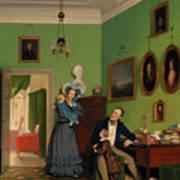 The Waagepetersen Family Art Print