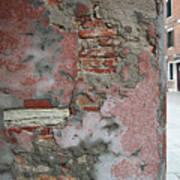 The Walls Of Venice Art Print