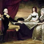 The Washington Family Art Print