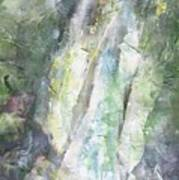 The Water Falls Art Print