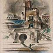 The Water Gate Art Print