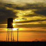 The Water Tower Art Print