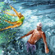 The Water Wall Art Print
