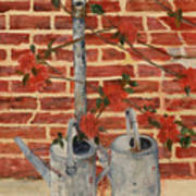 The Watering Cans Art Print