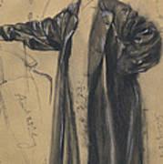 The Waterproof Coat Of General Moltke Art Print