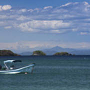 The Waters Of Coiba Art Print