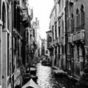 The Waterways Of Venice Art Print