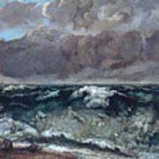 The Wave 1867  Art Print
