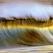 The Wave Art Print by Zarija Pavikevik