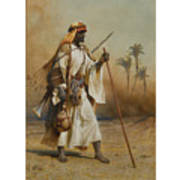 The Way From Sinai To Cairo Art Print