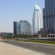The Way To Dubai Art Print