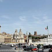 The Way To Piazza Venezia Art Print