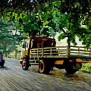 The Way To Tanjung Uma Art Print