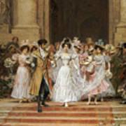 The Wedding Art Print