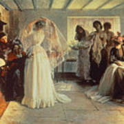 The Wedding Morning Art Print by John Henry Frederick Bacon