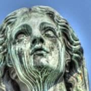 The Weeping Sculpture Art Print