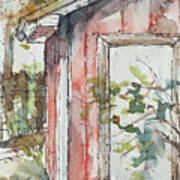 The Pump House  Art Print