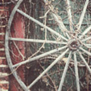 The Wheel And The Ivy Art Print