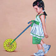 The Wheel - La Rueda Art Print
