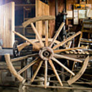 The Wheelwright's Shop Art Print