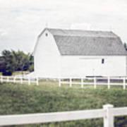 The White Barn Art Print