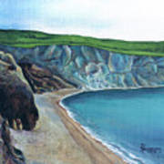 The White Cliffs Of Dover Art Print
