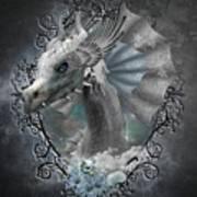 The White Dragon Art Print