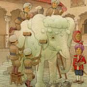 The White Elephant 02 Art Print