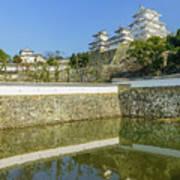 The White Heron Castle - Himeji Art Print