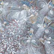 The White Hibiscus Art Print