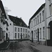 The White Village - Digital Art Print
