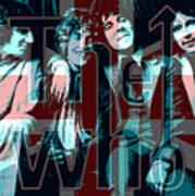 The Who Poster  Art Print