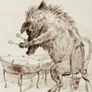 The Wild Boar Art Print