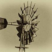 The Windmills Of My Mind Art Print