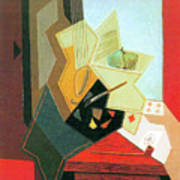 The Window Of The Painter  Art Print