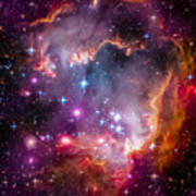 The Wing Of The Small Magellanic Cloud Art Print