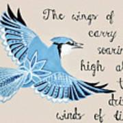 The Wings Of Hope Art Print
