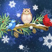 The Winter Watch Art Print